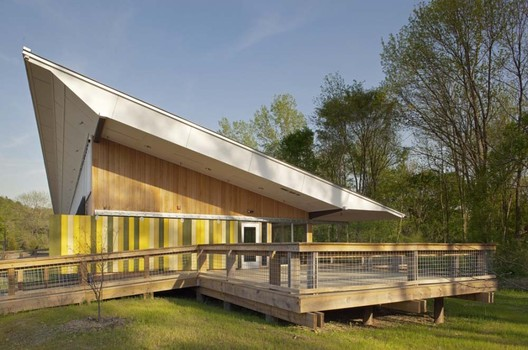 Walnut Creek Wetland Center - Courtesy of Frank Harmon Architect