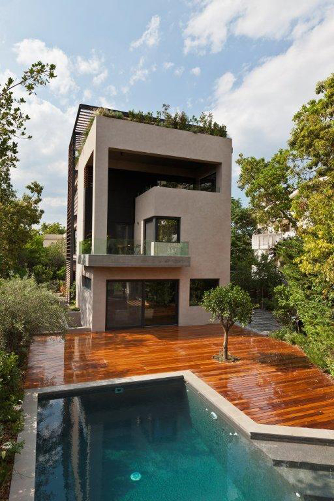 Gallery of residence in filothei gem architects 13 for Small house photos gallery