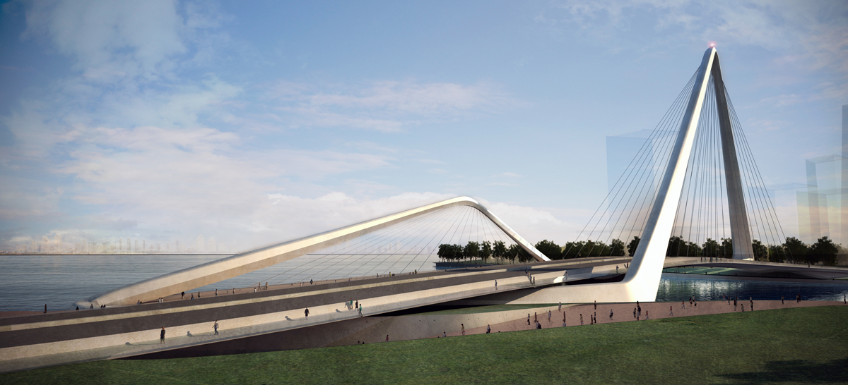 Gallery of infinity loop bridge 10 design buro happold 7 for Buro concept