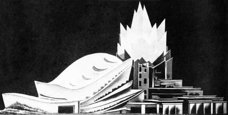 Hans and Wassili Luckhardt's Concert Hall 1948 © The Unbuilt Berlin