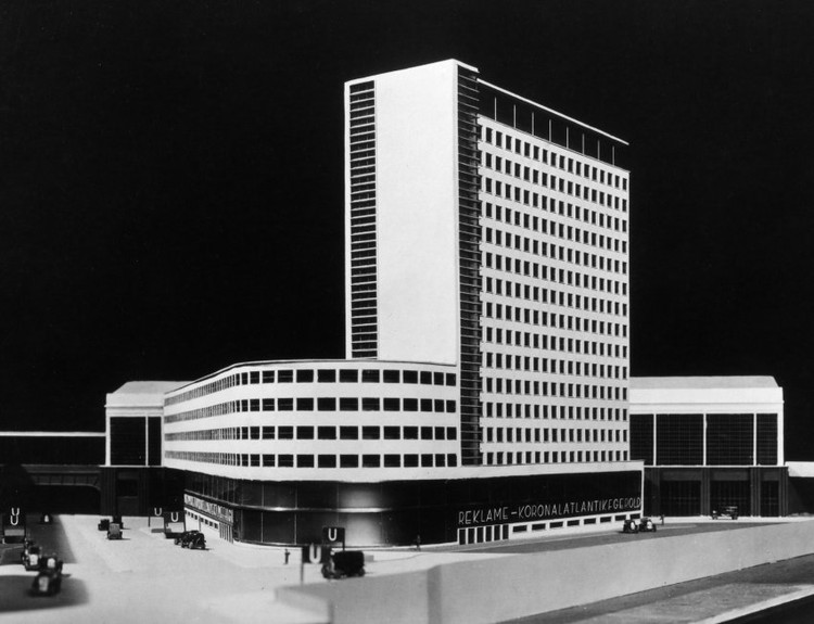 Erich Mendelsohn's High rise on Frederick Street 1929 © The Unbuilt Berlin