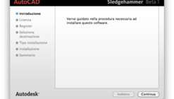 Autodesk Autocad for Mac, Sledgehammer Beta 1