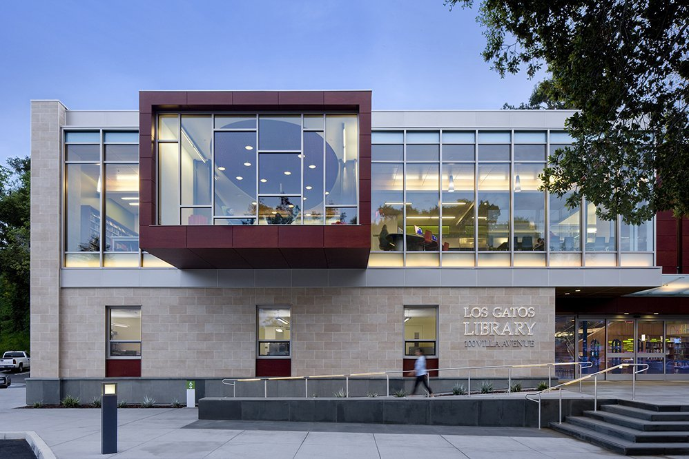 Los Gatos Public Library Noll Amp Tam Architects Archdaily