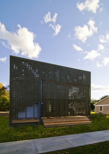 © Cook + Fox Architects, screen design drawn from Janine Benyus' research on biomimicry