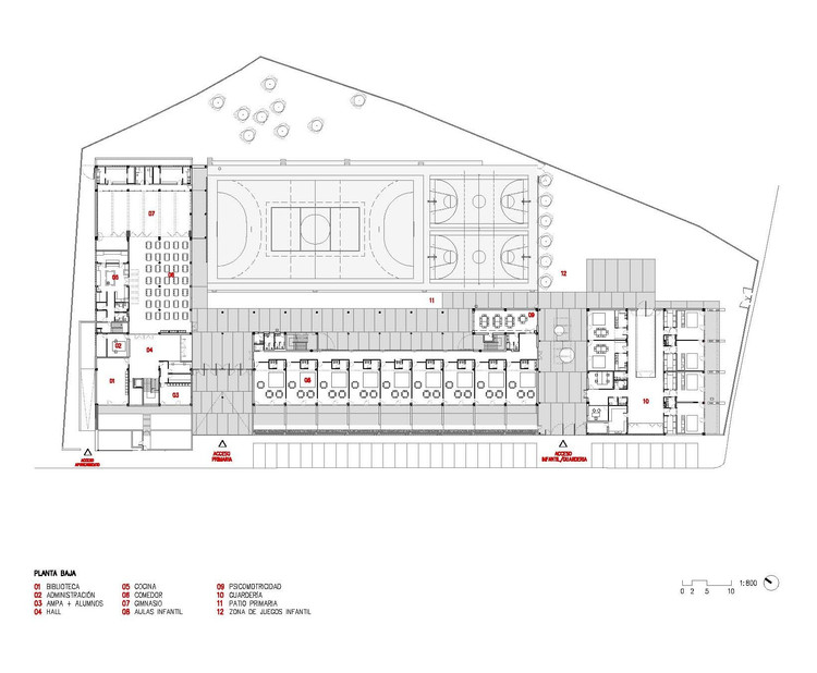 Ground Floor Plan 01