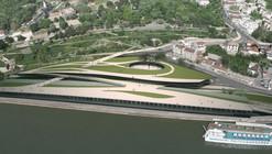 Beton Hala Waterfront Center proposal / Djordje Alfirevic