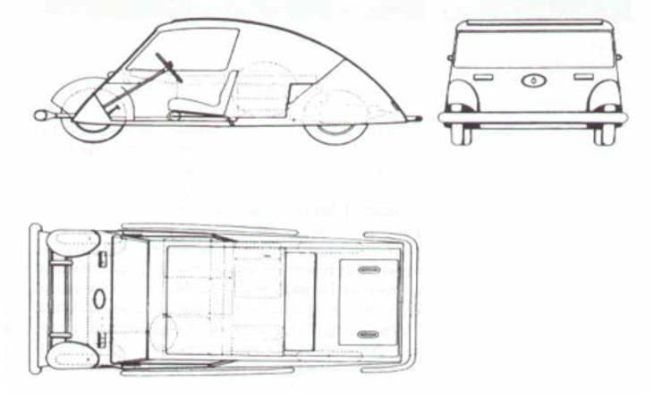 Car designed by Le Corbusier (1929)