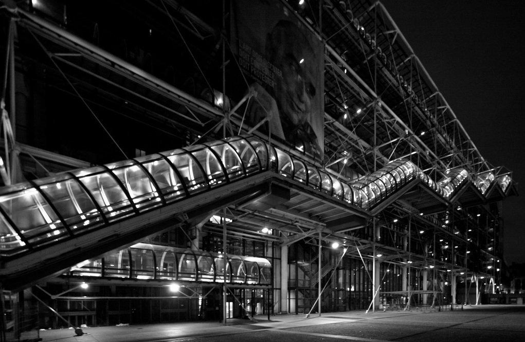 Gallery of architecture city guide paris 17 - Centre george pompidou architecture ...