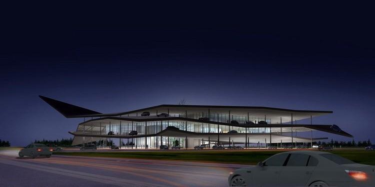 Night view © 3Gatti Architecture Studio