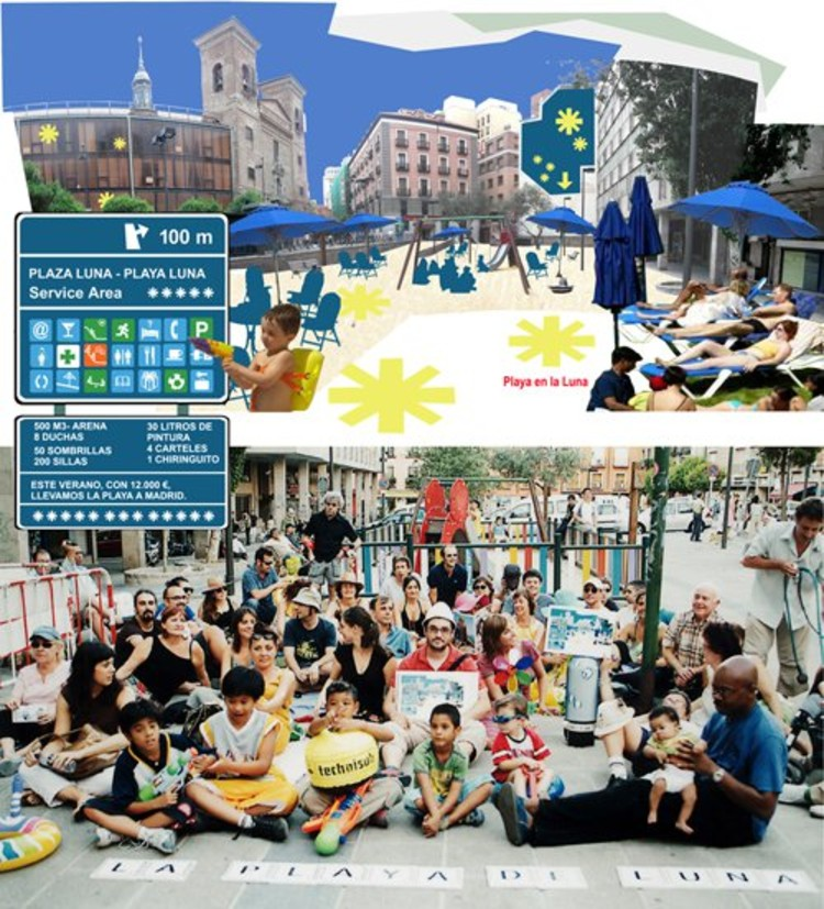 Propuesta realizada por Ecosistema Urbano