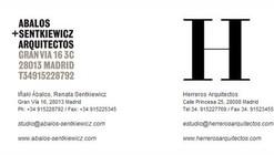 Ábalos&Herreros se desdobla en dos oficinas independientes
