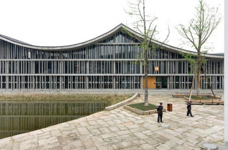 Nueva Academia de Arte en Hangzhou © Iwan Baan