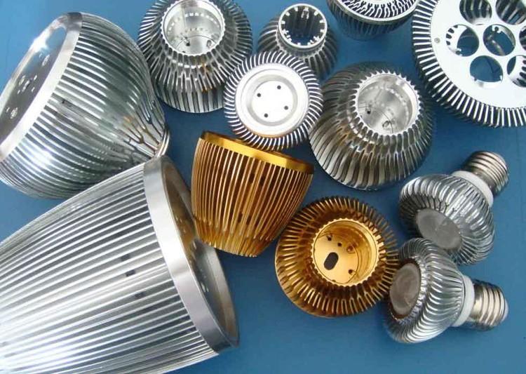 disipadores pasivos para lámparas baja potencia de LED