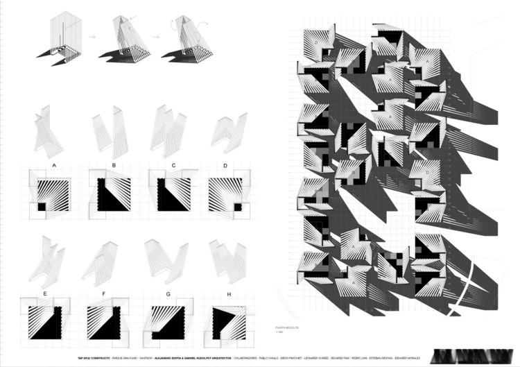 Lógica módulos   Imagen cortesía Alejandro Soffia & Gabriel Rudolphy