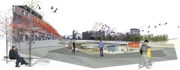 Vista Tramo Plazas/Puente