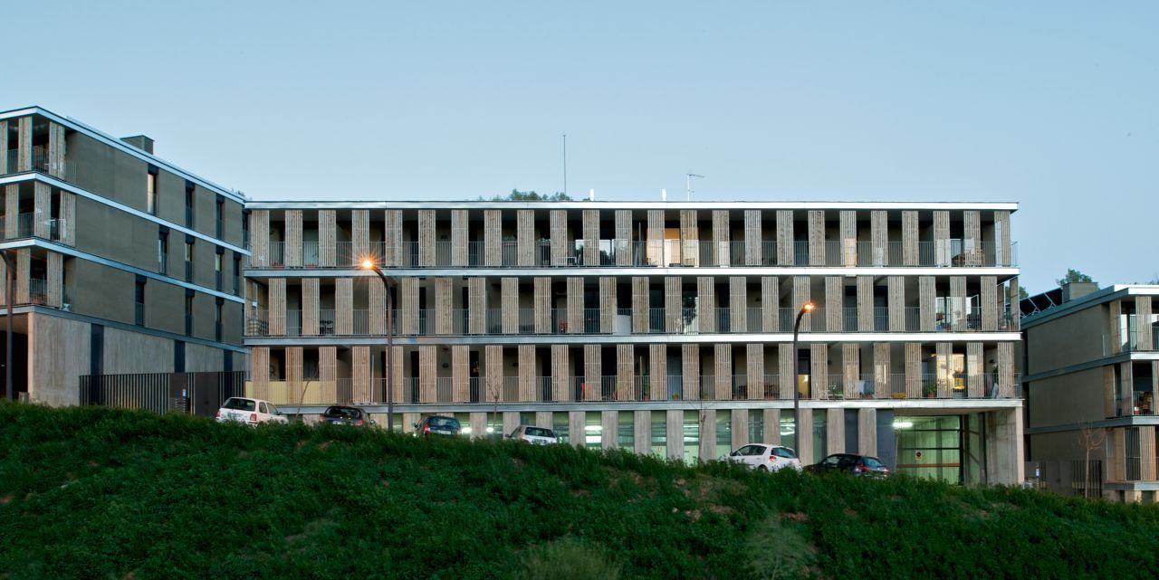 Proyecto de construcci n de 48 viviendas en torrelles de - Proyectos de construccion de casas ...