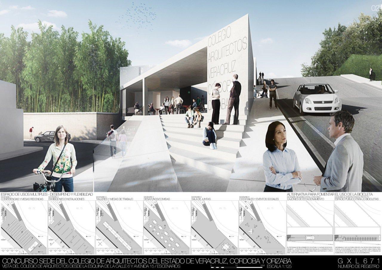 Segundo lugar concurso sede del colegio de arquitectos del - Colegio de arquitectos de cordoba ...