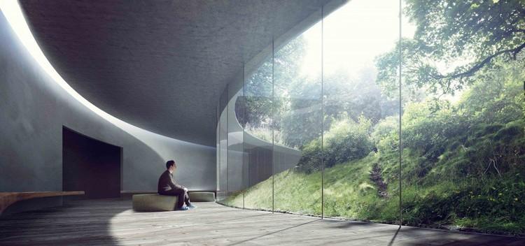Cortesía de Kengo Kuma & Associates, Erik Møller Arkitekter, JAJA Architects