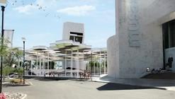 Anfiteatro y biblioteca para el Museo de Arte de Sonora por BNKR Arquitectura
