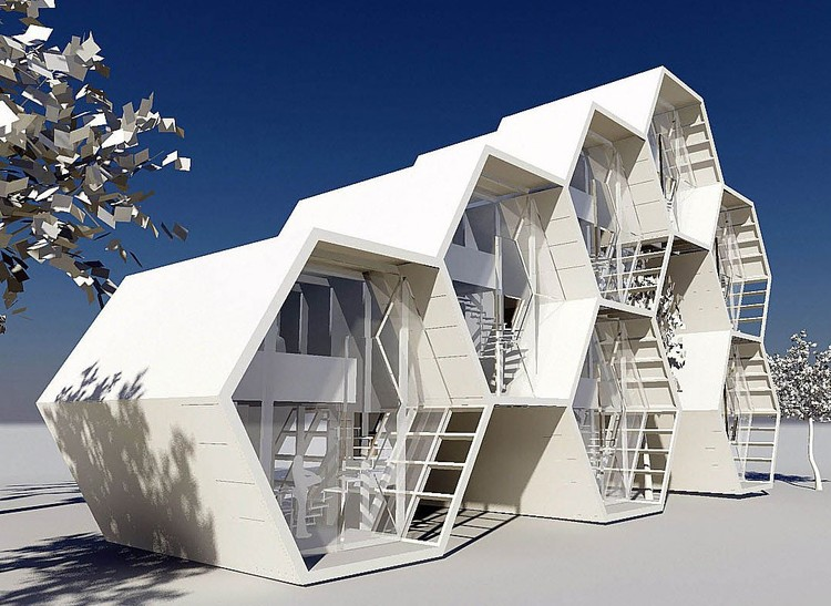 Concepto Grafeno Loft Arketiposchile Plataforma Arquitectura