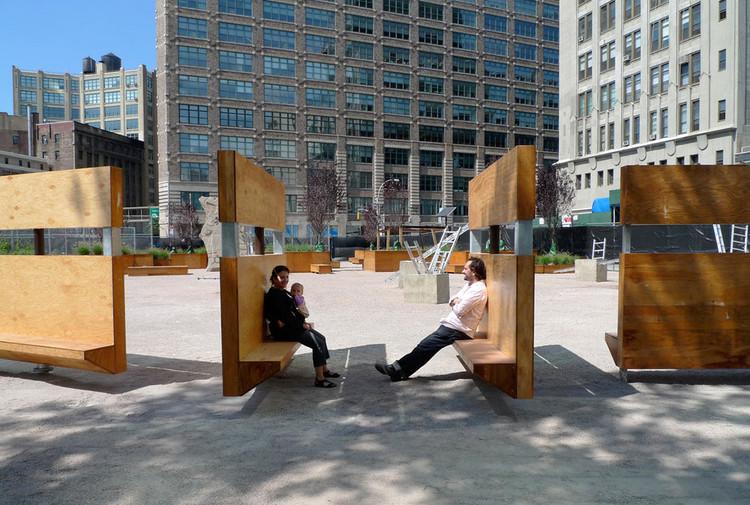 En Detalle: Mobiliario Urbano del Proyecto LentSpace / Interboro, © Interboro