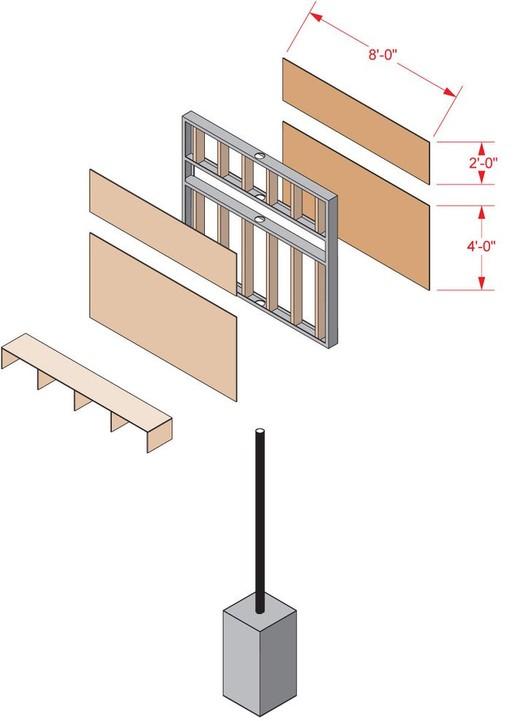 Axonométrica / Detalle