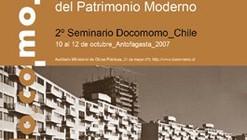 2º Seminario Nacional DOCOMOMO CHILE - Desafios del Patrimonio Moderno