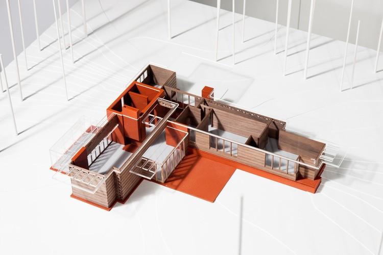Casa Pope-Leighey, Frank Lloyd Wright © Fundación Barrié
