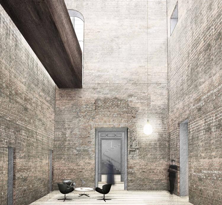 Proyecto ganador para restaurar el Palacio Pereira de Cecilia Puga