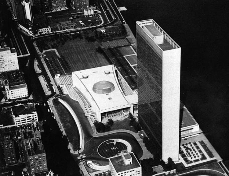 1947 Sede da ONU en Nueva York