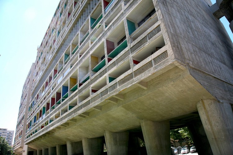Unite d'habitation, 1952. El primer gran proyecto de vivienda social colectiva de Le Corbusier, Foto © Vincent Desjardins