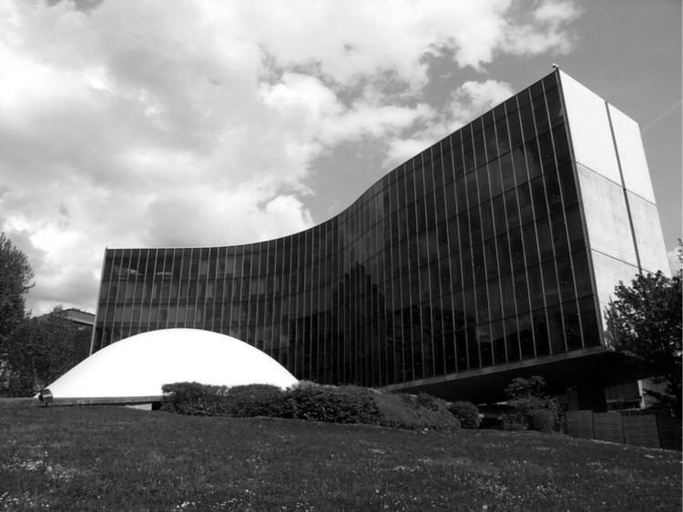 1971 | Sede del Partido Comunista Francés © Rodrigo Mathias
