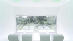 Iluminación de luz natural: Piscina climatizada en Mallorca / A2 Arquitectos