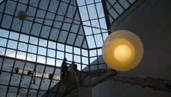 Proyecto Mudam: lámpara móvil por Nathalie Dewez