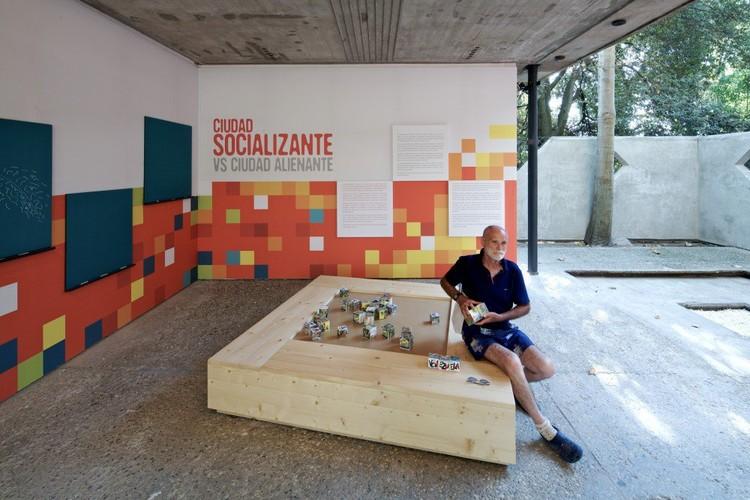 Domenico Silvestro at the Venezuela pavilion © Nico Saieh