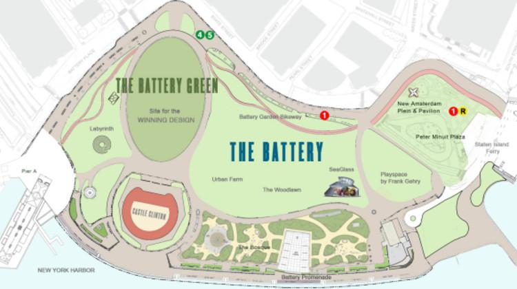 plan del parque