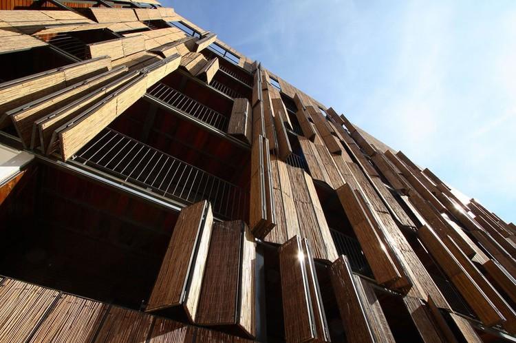 En Detalle: Cortes Constructivos / Celosías, Housing en Carabanchel / Foreign Office Architects (FOA) © Francisco Andeyro Garcia & Alejandro Garcia Gonzalez (FAG, AGG), Sergio Padura (SP)