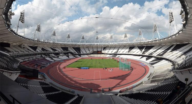 Estadio Olímpico de Londres / Populous © LOCOG
