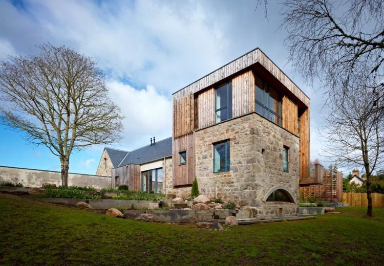 Bogbain Mill, Maryburgh por Rural Design © Andrew Lee