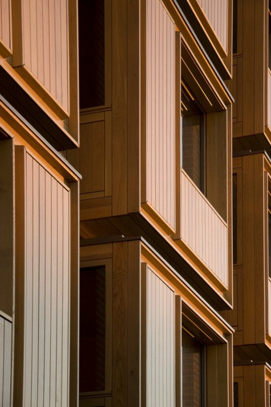 Student Accommodation, Somerville College por Niall McLaughlin Architects