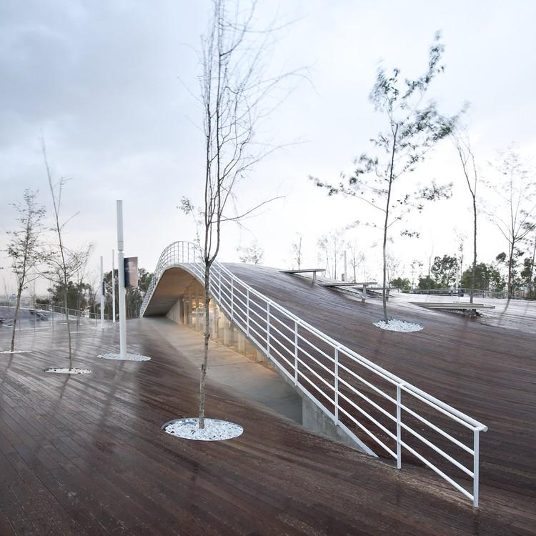 Mirador Monumental 5 de Mayo - TEN arquitectos © Patrick Lopez Jaimes