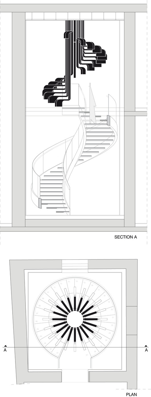 Sección y Planta