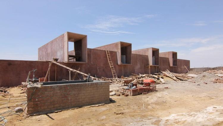 En Construcción: Museo de Sitio de la Cultura Paracas / Sandra Barclay y Jean Pierre Crousse, Cortesía Jean Pierre Crousse