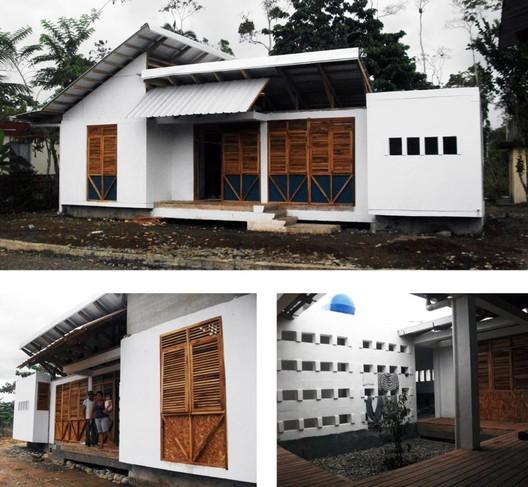 Casas prototipo 1 y 2, Proyecto de reparación ambiental y social Pras. Arquitectos Natalia Corral, Pablo Moreira y Yadhira Álvarez
