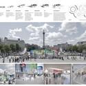 Resultados del Concurso Pabellón de Informaciónes para los Juegos Olímpicos de Londres