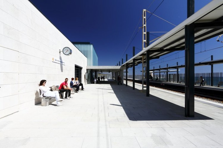 Estación St. Andreu Llavaneres · 7sis ©aitorestevez