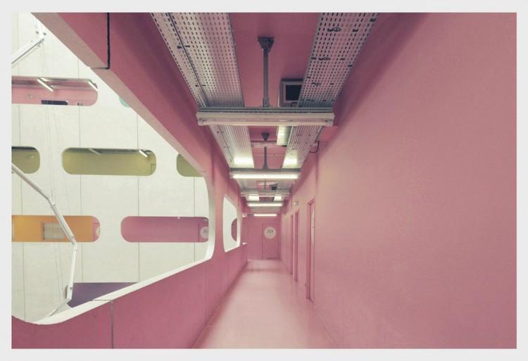 Atrium Jussieu University, Jussieu © Franck Bohbot
