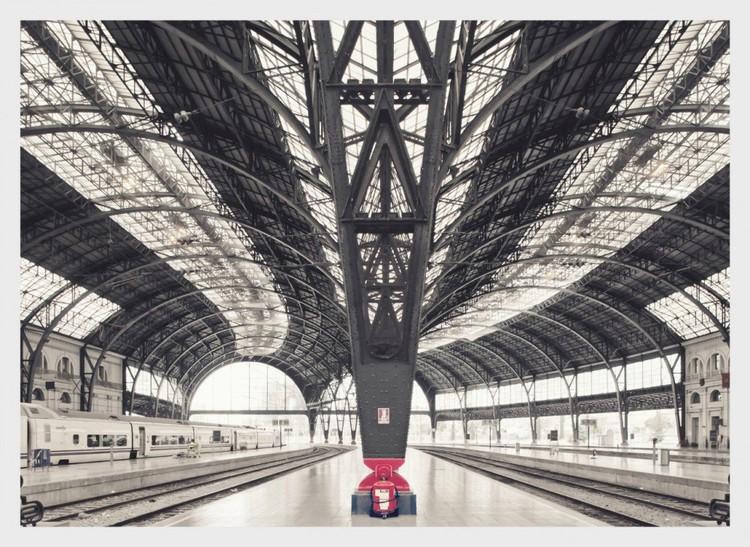 Depart Alvia Train, Barcelona © Franck Bohbot