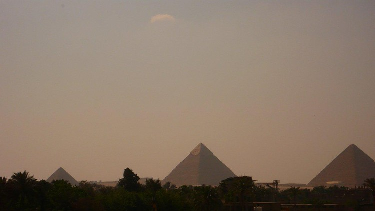 Egipto, para mostrar que era posible