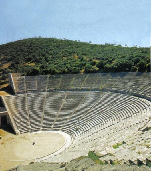 Teatro de Epidauro, obras bien hechas